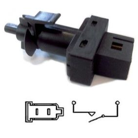 Brake Light Switch Number of Poles: 2-pin connector with OEM Number 0045452114