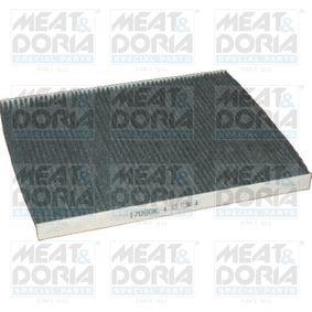 Filter, Innenraumluft Länge: 290mm, Breite: 226mm, Höhe: 20mm mit OEM-Nummer 60814643