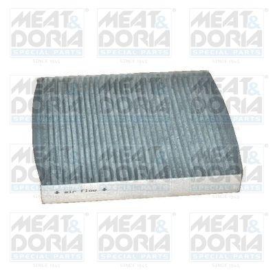 MEAT & DORIA  17081K Filter, interior air Length: 252mm, Width: 216mm, Height: 32mm