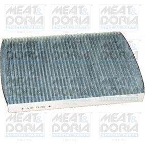 Filter, Innenraumluft Länge: 280mm, Breite: 206mm, Höhe: 26mm mit OEM-Nummer 1 H0 819 644 B