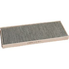 MEAT & DORIA Filter, Innenraumluft 17087K für AUDI 80 Avant (8C, B4) 2.0 E 16V ab Baujahr 02.1993, 140 PS
