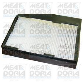 Filter, Innenraumluft Länge: 228mm, Breite: 217mm, Höhe: 28mm mit OEM-Nummer 46 770 834