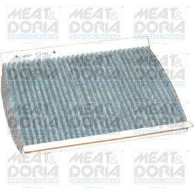 Filter, Innenraumluft Länge: 228mm, Breite: 177mm, Höhe: 21mm mit OEM-Nummer 46723435