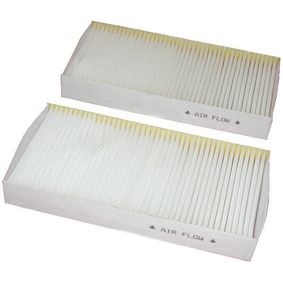 Filter, interior air Length: 225mm, Width: 111mm, Height: 29mm with OEM Number 80292 SCA E11