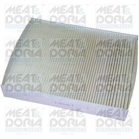 Filter, Innenraumluft Länge: 237mm, Breite: 190mm, Höhe: 35mm mit OEM-Nummer 1 204 464