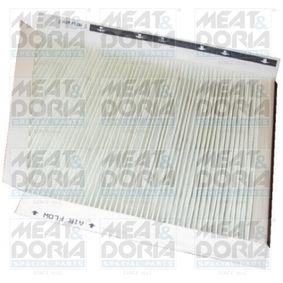 Filter, Innenraumluft Länge: 306mm, Breite: 253mm, Höhe: 34mm mit OEM-Nummer A2118300018