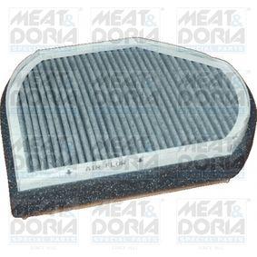 Filter, Innenraumluft Länge: 264mm, Breite: 202mm, Höhe: 54mm mit OEM-Nummer B668 099 01