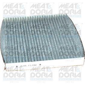 Filter, Innenraumluft Länge: 197mm, Breite: 214mm, Höhe: 25mm mit OEM-Nummer GS1D-61-P11