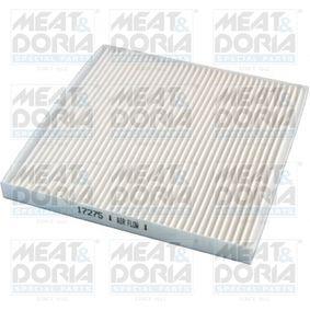 Filter, Innenraumluft Länge: 216mm, Breite: 207mm, Höhe: 18mm mit OEM-Nummer 88568-02020