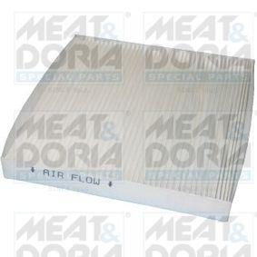 Filter, Innenraumluft Länge: 224mm, Breite: 235mm, Höhe: 30mm mit OEM-Nummer 80292-SDA-A01