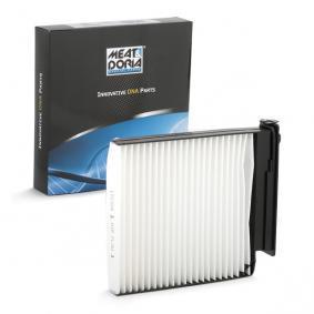Filter, interior air 17327F Note (E11, NE11) 1.5 dCi MY 2011