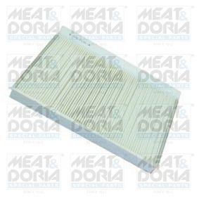 Filter, Innenraumluft Länge: 350mm, Breite: 230mm, Höhe: 34mm mit OEM-Nummer A 906 830 03 18