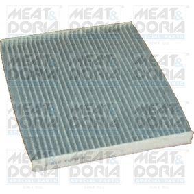 Filter, Innenraumluft Länge: 218mm, Breite: 266mm, Höhe: 21mm mit OEM-Nummer 55702468