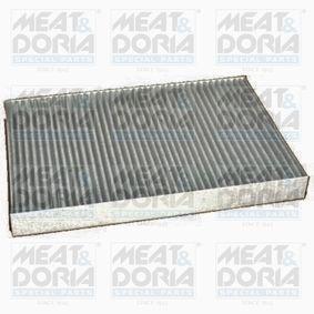 Filter, Innenraumluft Länge: 312mm, Breite: 212mm, Höhe: 30mm mit OEM-Nummer 04596501 AC