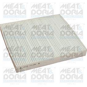 Filter, Innenraumluft Länge: 217mm, Breite: 194,5mm, Höhe: 26mm mit OEM-Nummer K05058381AA