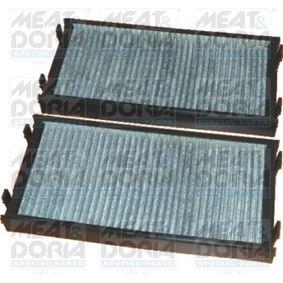 Filter, Innenraumluft Länge: 293mm, Breite: 140mm, Höhe: 34mm mit OEM-Nummer 64116945594