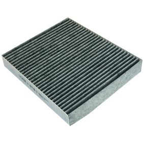 Filter, Innenraumluft Länge: 24mm, Breite: 20,5mm, Höhe: 3,5mm mit OEM-Nummer 52 420 930