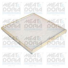Filter, Innenraumluft Länge: 210mm, Breite: 194mm, Höhe: 20mm mit OEM-Nummer 95 947 238