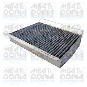 Filter, Innenraumluft Länge: 218mm, Breite: 156mm, Höhe: 30mm mit OEM-Nummer 6821 2070 AA