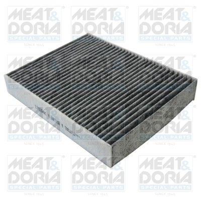 MEAT & DORIA  17534K Filter, Innenraumluft Länge: 245mm, Breite: 198mm, Höhe: 40mm