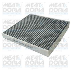 Filter, Innenraumluft Länge: 252mm, Breite: 235mm, Höhe: 30mm mit OEM-Nummer 5Q0 819 653