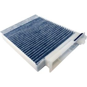 Filter, interior air Length: 220mm, Width: 179mm, Height: 27mm with OEM Number 7711 426 872