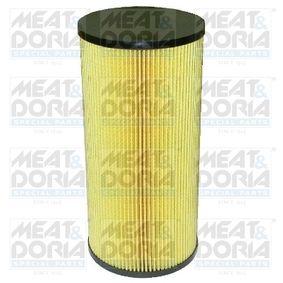 Ölfilter Ø: 120,5mm, Innendurchmesser: 14mm, Höhe: 265,5mm mit OEM-Nummer A0001802909