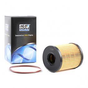 Filtro olio (14069) per per Filtro Olio FIAT GRANDE PUNTO (199) 1.3 D Multijet dal Anno 10.2005 75 CV di MEAT & DORIA