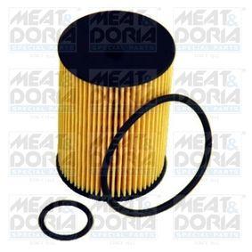Ölfilter Ø: 57,5mm, Innendurchmesser: 9,5mm, Höhe: 89,5mm mit OEM-Nummer 266 184 03 25