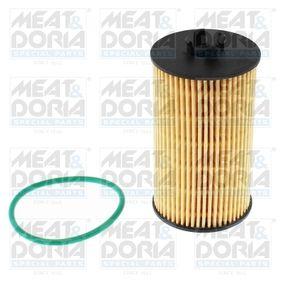 Sistema de pré-aquecimento do motor (eléctrico) OPEL CORSA C Caixa (F08, W5L) 1.2 80 CV de Ano 07.2005: Filtro de óleo (14107) para de MEAT & DORIA