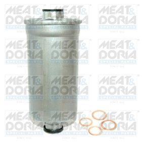 MEAT & DORIA Kraftstofffilter 4020/1 für AUDI 80 Avant (8C, B4) 2.0 E 16V ab Baujahr 02.1993, 140 PS