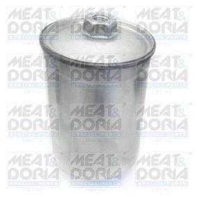 MEAT & DORIA Kraftstofffilter 4022/1 für AUDI COUPE (89, 8B) 2.3 quattro ab Baujahr 05.1990, 134 PS