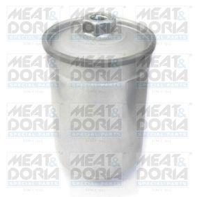 MEAT & DORIA Kraftstofffilter 4023/1 für AUDI COUPE (89, 8B) 2.3 quattro ab Baujahr 05.1990, 134 PS
