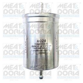 MEAT & DORIA Kraftstofffilter 4024 für AUDI A6 (4B2, C5) 2.4 ab Baujahr 07.1998, 136 PS