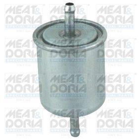 Kraftstofffilter Höhe: 120mm mit OEM-Nummer 16400 V2700