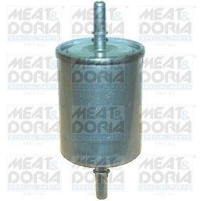 Kraftstofffilter Höhe: 137mm mit OEM-Nummer 1567 93