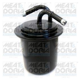 Kraftstofffilter Höhe: 121mm mit OEM-Nummer 42072AA010