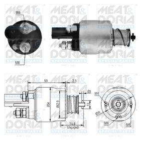 Magnetschalter Anlasser VW PASSAT Variant (3B6) 1.9 TDI 130 PS ab 11.2000 MEAT & DORIA Magnetschalter, Starter (46126) für