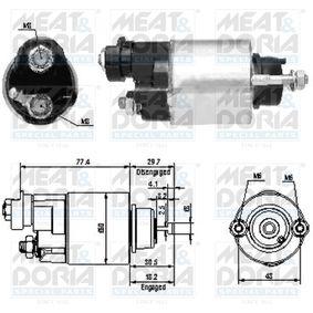 Магнитен превключвател, стартер 46173 Jazz 2 (GD_, GE3, GE2) 1.2 i-DSI (GD5, GE2) Г.П. 2008
