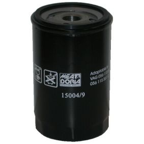 MEAT & DORIA Ölfilter 15004/9 mit OEM-Nummer 034115561A