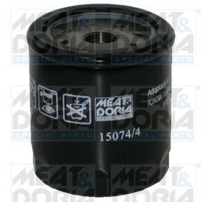 Filtre à huile Ø: 76mm, Hauteur: 89mm avec OEM numéro 156017600971