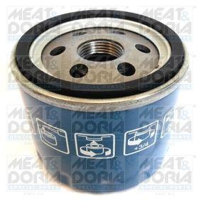 MEAT & DORIA  15243 Ölfilter Ø: 78mm, Höhe: 65mm