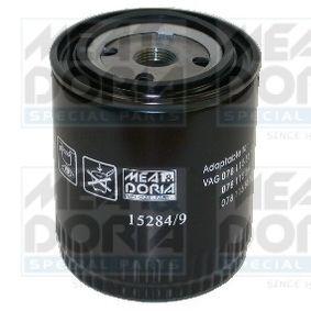 MEAT & DORIA Ölfilter 15284/9 für AUDI 80 (8C, B4) 2.8 quattro ab Baujahr 09.1991, 174 PS