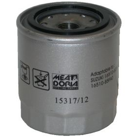 Ölfilter Ø: 81,5mm, Höhe: 92mm mit OEM-Nummer 16510-61A21