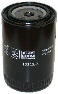 MEAT & DORIA  15323/9 Ölfilter Ø: 93mm, Höhe: 142mm