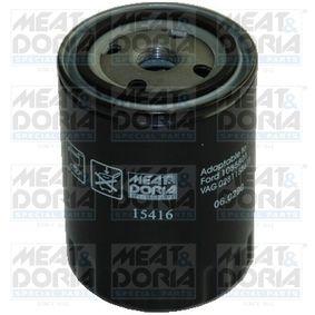 T4 Transporter 1.9TD Ölfilter MEAT & DORIA 15416 (1.9TD Diesel 1999 ABL)