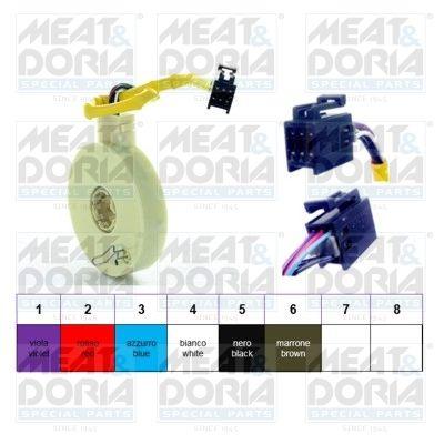 MEAT & DORIA датчик за ъгъла на завиване жълт  93051