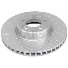 Brake Disc Brake Disc Thickness: 30mm, Rim: 5-Hole, Ø: 340mm with OEM Number 34 11 6 797 602