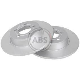 Bremsscheibe Bremsscheibendicke: 10mm, Felge: 5-loch, Ø: 272mm mit OEM-Nummer 6R0615601B