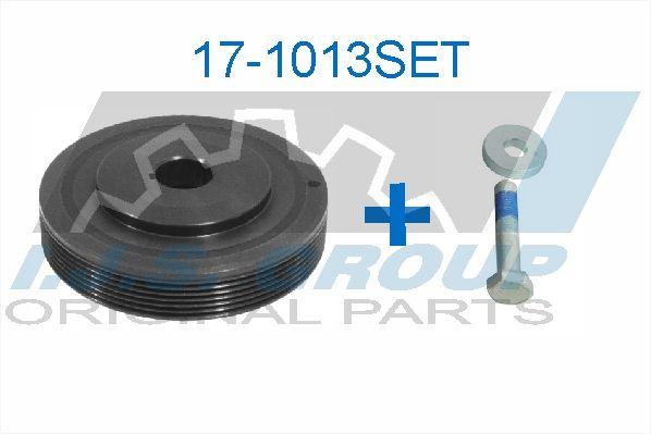 IJS GROUP  10-1024 Cubo de rueda Ø: 116mm